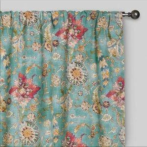 World Market Genevieve Paisley Curtain 48 X 96